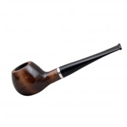 #33 apple pearwood tobacco smoking pipe from Golden Pipe (Poland)