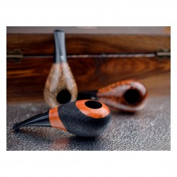 No. 151 briar orange furrowed short pipe