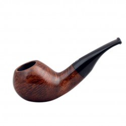 No. 106 Handmade briar brown smooth pipe