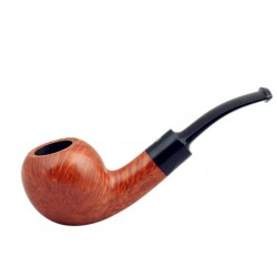 No. 110 briar tomato orange smooth pipe