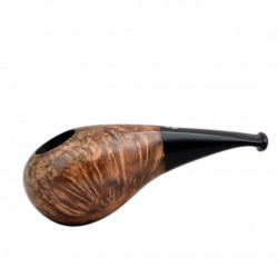 No. 150 briar light brown smooth short pipe