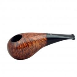 No. 150 briar brown smooth short pipe