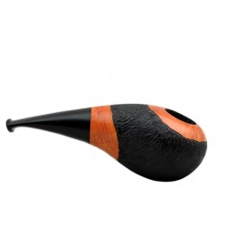 No. 151 briar orange furrowed short pipe