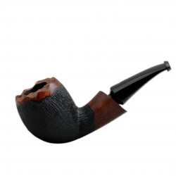 No. 89 briar bent egg brown furrowed pipe