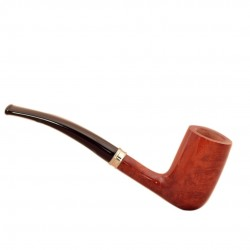 VINTAGE (Selected 55) smooth tobacco pipe by Brebbia (Italy)