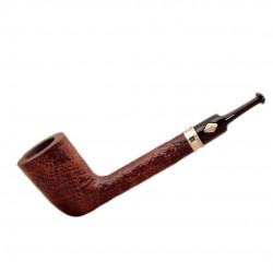 VINTAGE (sabbiata 51) sandblasted tobacco pipe by Brebbia (Italy)