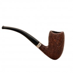 VINTAGE (sabbiata 56) sandblasted tobacco pipe by Brebbia (Italy)