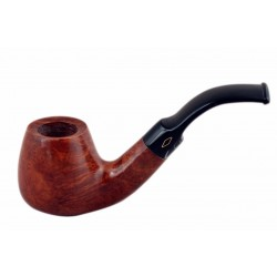 ROMBO (Ambrata) briar brandy smooth tobacco smoking pipe from Brebbia (Italy)