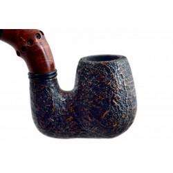BUZZI (Sabbiata) sandblasted briar pipe by Brebbia (Italy) 03