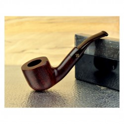 CELLINI (mogano) bent pipe