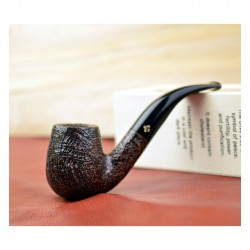 CELLINI (sabbiata) bent billiard pipe