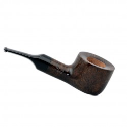FAT BOB (Noce 2111) briar chubby straight smooth tobacco pipe by Brebbia (Italy)