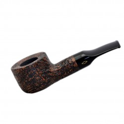 FAT BOB (Sabbiata 2111) briar chubby straight smooth tobacco pipe by Brebbia (Italy)