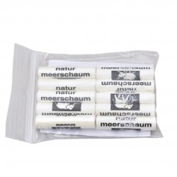 9mm meerschaum filters (10 pack) by Brebbia (Italy)
