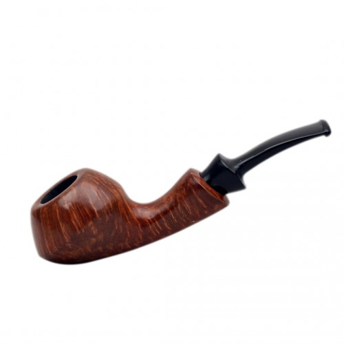 GIO' (Noce) briar smooth rhodesian tobacco pipe by Brebbia (Italy)