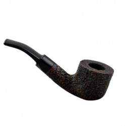 JUNIOR (sabbiata noce 2716) bent pot pipe