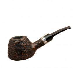 NICO SABBIATA sandblasted tobacco pipe by Brebbia (Italy)