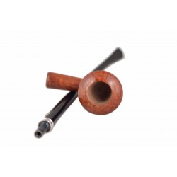 LECTURA Selected (2983) briar long bent dublin churchwarden tobacco smoking pipe by Brebbia (Italy)