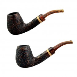 NINJA (sabbiata 839) bent brandy pipe