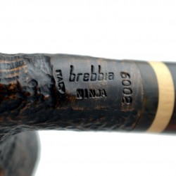 NINJA (sabbiata 6002) bent billiard pipe