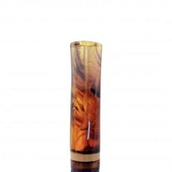 NINJA (rocciata 834) bent apple tobacco smoking pipe from Brebbia (Italy)