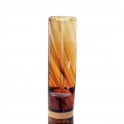 NINJA (rocciata 839) bent brandy tobacco smoking pipe from Brebbia (Italy)