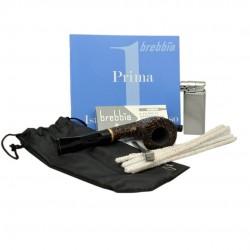 PRIMA (Sabbiata 6010) pipe smoking starter kit by Brebbia (Italy)