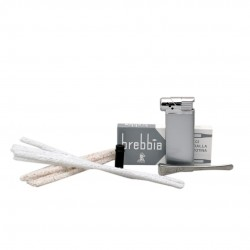 PRIMA (Sabbiata 6010) pipe smoking starter kit by Brebbia (Italy)