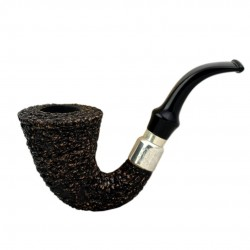 FIRST CALABASH (Rocciata scura 1997) smoking pipe
