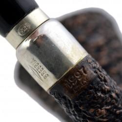 FIRST CALABASH (Rocciata scura 1997) briar smoking pipe from Brebbia (Italy) 02