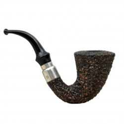 FIRST CALABASH (Rocciata scura 1997) briar smoking pipe from Brebbia (Italy) 03