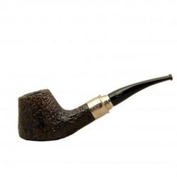 CLASSIC 2019 SABBIATA sandblasted tobacco pipe by Brebbia (Italy)
