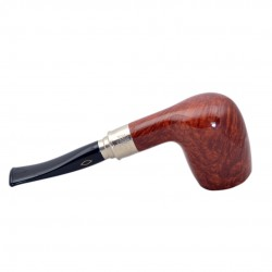CLASSIC 2018 SELECTED briar smooth tobacco smoking pipe from Brebbia (Italy)