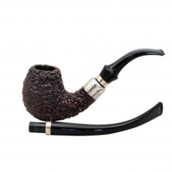 FIRST LONG ROCCIATA 60 briar tobacco smoking pipe from Brebbia (Italy)