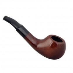 GO GO (naturale) mini briar tobacco pipe by Brebbia (Italy)