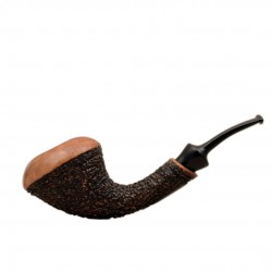 HORNET sandblasted tobacco pipe by Brebbia (Italy)