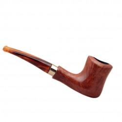 NAIF (ambra 7013) briar pipe from Brebbia (Italy)
