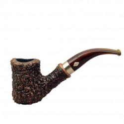 NAIF (rustica marrone 7069) briar pipe from Brebbia (Italy)