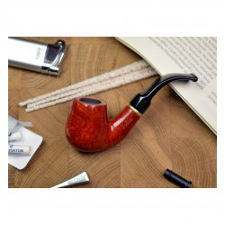 PRIMA (Liscia 6007) pipe smoking starter kit by Brebbia (Italy)