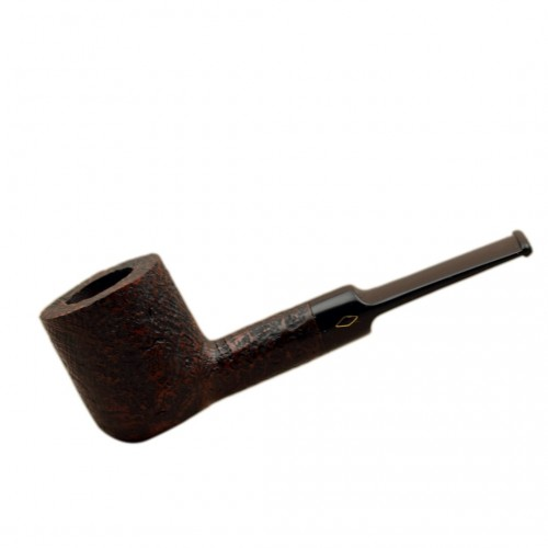 ROMBO (Sabbiata) briar pot tobacco smoking pipe by Brebbia (Italy)