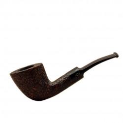 ROMBO (Sabbiata) briar smoking pipe by Brebbia (Italy)