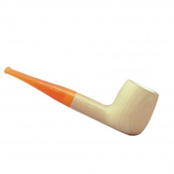 MARA CLASSIC (naturale 1001) meerschaum lined tobacco pipe by Brebbia (Italy)