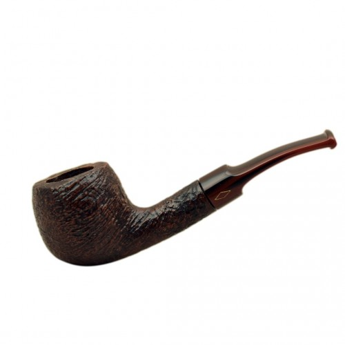 ROMBO (Marezzate) briar bent apple pipe by Brebbia (Italy)