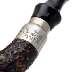 FIRST CALABASH (Sabbiata 1997) briar smoking pipe from Brebbia (Italy)
