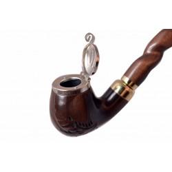 DEZERTER #13 brown churchwarden tobacco smoking pipe by Mr. Brog (Poland)