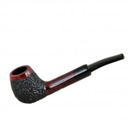 ANDREW no. 103 briar rustic tobacco smoking pipe by Mr. Brog (Poland)