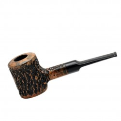 AGED no. 107 briar straight rustic poker pipe by Mr. Brog (Poland)