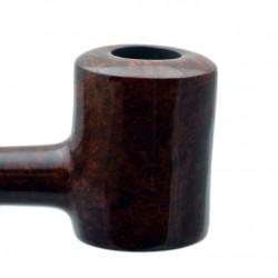 AGED no. 107 briar straight smooth brown poker pipe by Mr. Brog (Poland)