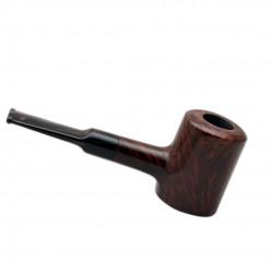 AGED no. 107 briar straight smooth dark brown poker pipe by Mr. Brog (Poland)