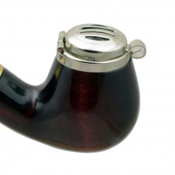 DEZERTER #13 red churchwarden pipe